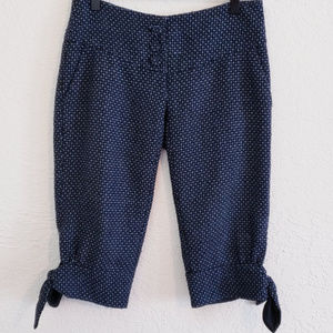 Anthropologie Ett:Twa wool tie peasant capris sz 2